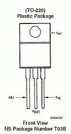 Микросхемы - стабилизаторы,схема подключения КР142ЕН12А, LM317T