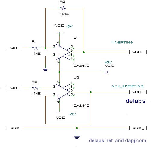 Buffer or Unity Gain Op-Amp