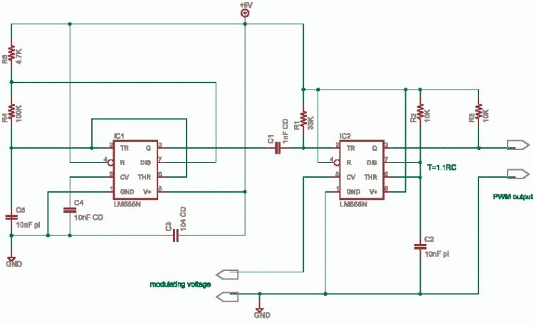 Pulse Width Modulation Using 555 Delabs