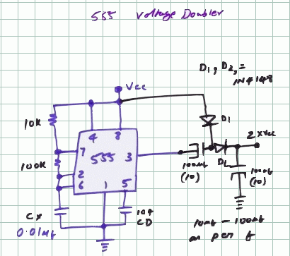 Del50007 on voltage doubler circuit diagram