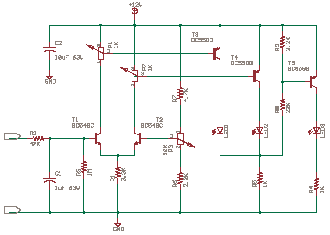 LED Voltage Level Indicator