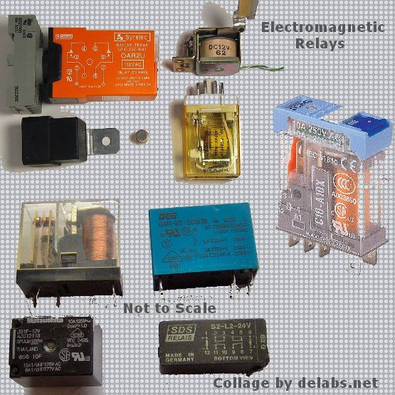 Basic Relay Or Solenoid Driver