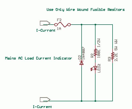 230v Led Indicator Mains Current Led Indicator