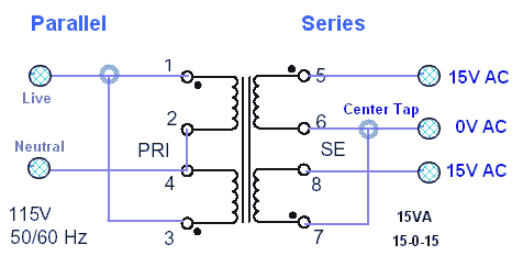 how to tap connect wires of different guages
