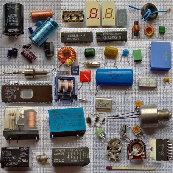 Electronic Component Parts : Electronic components kits and materials delabs