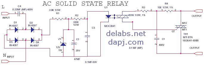 ACAC Solid State Relay or SSR del30012