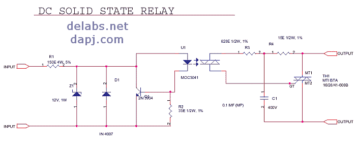 ac solid state relay wiring diagram latching relay diagram elsavadorla