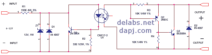 DC Load DC Control Solid State Relay del30007