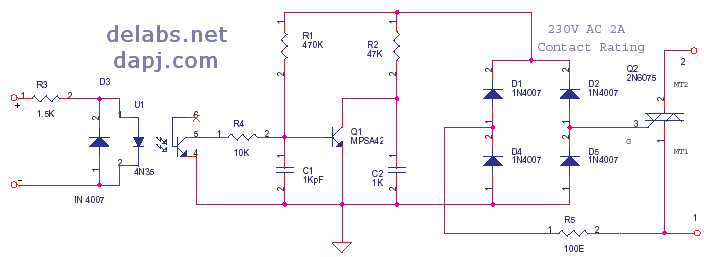 Del30011 on transistor wiring diagram