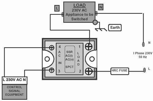Solid State Relay Wiring Diagram - Today Diagram Database on