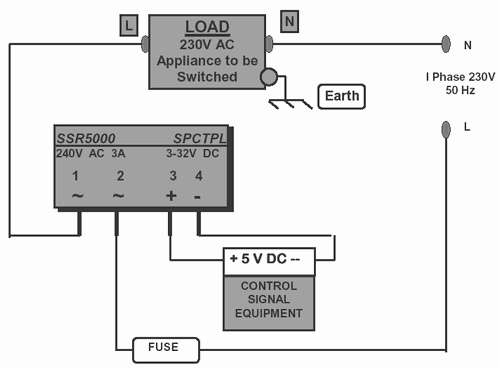 dc ssr solid state relay wiring diagram solid state relay application PID SSR Wiring Schematic at gsmx.co