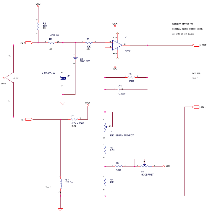 Thermocouple Temperature Using Dpm Or Dmm Delabs
