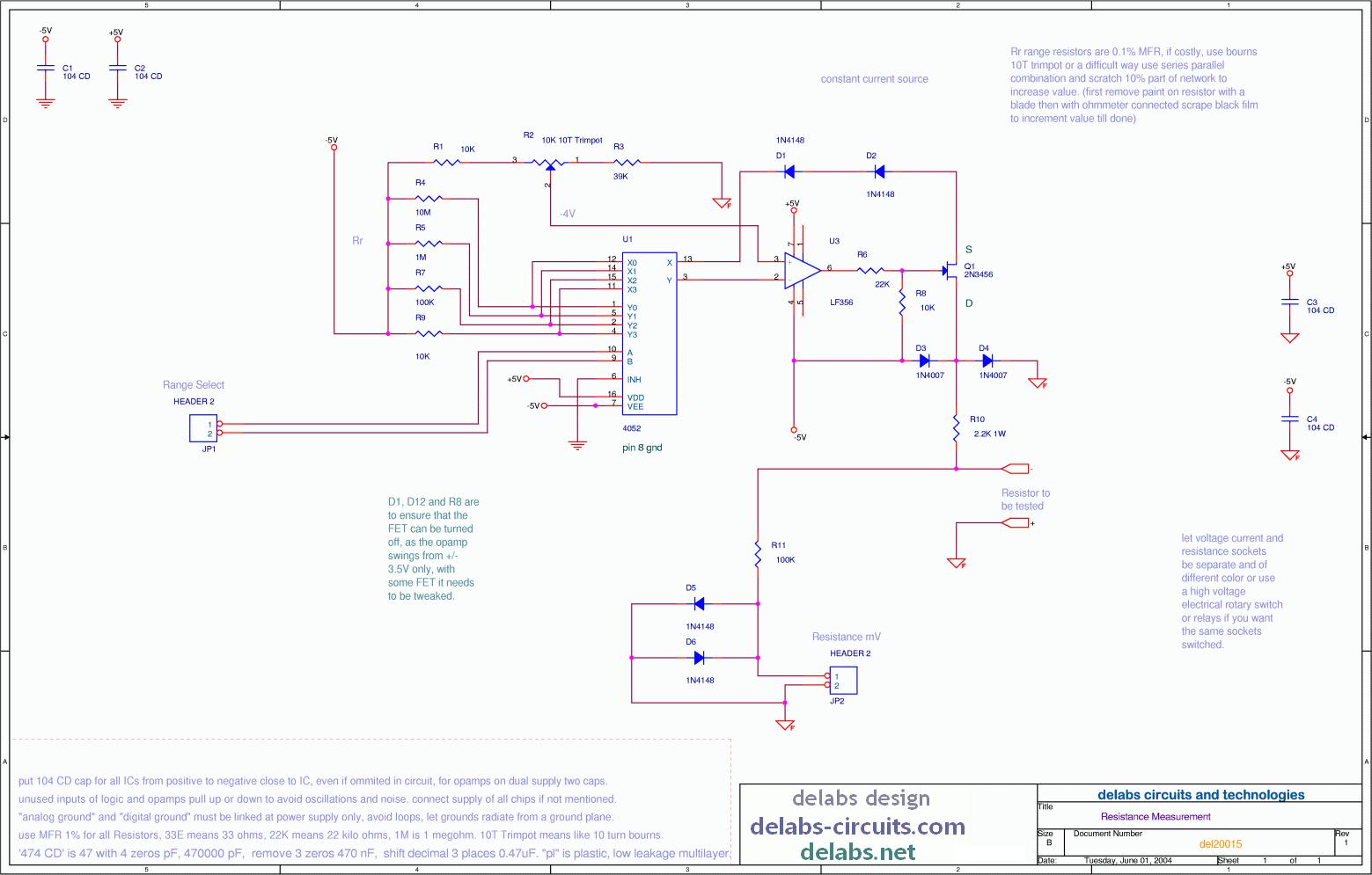 resistance measurement with current source del20015 rh delabs circuits com