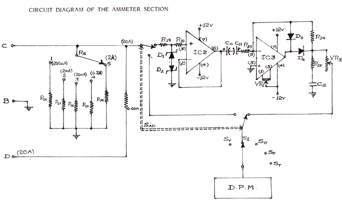 diagram ammeter2bwiring2bdiagram digital ammeter wiring diagram sche rh sauhosting us digital tachometer circuit diagram analog ac ammeter circuit diagram