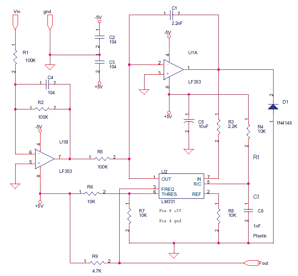 VCO with LM331