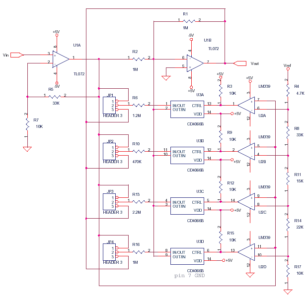Linearizing Circuit for Thermocouples